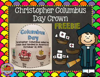 Columbus Day Crown