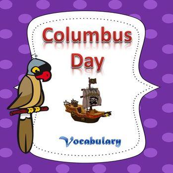 Columbus Day Essential Vocabulary Through Fun