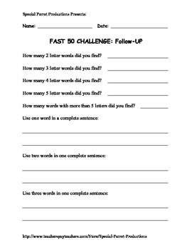 Columbus Day FREE - How Many Words Can You Make?