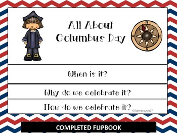 Columbus Day Flipbook and Activities