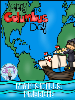 Columbus Day Freebie With Map Skills