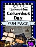 Columbus Day Fun Pack for Kindergarten