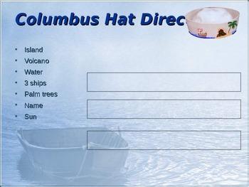 Columbus Day Hats