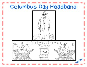 Columbus Day Headband