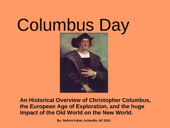 Columbus Day Historical Overview (Short)