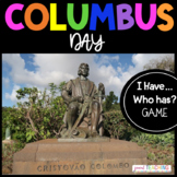 Columbus Day I Have... Who Has Game (Christopher Columbus)