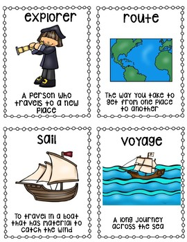 Columbus Day Interactive Booklet