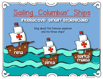 Columbus Day {Interactive Singin' Storyboard} for Kindergarten and First Grade