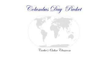 Columbus Day Intermediate Packet