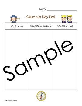 Columbus Day KWL