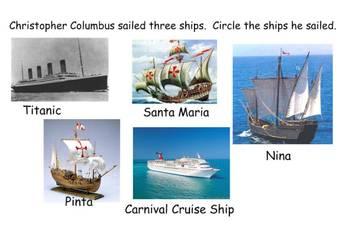 Columbus Day Lesson