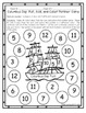 Columbus Day Math Game for Partners FREE Dice Game
