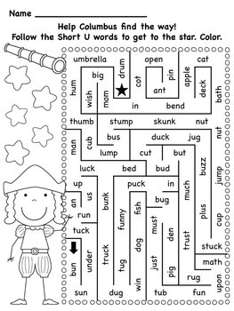 Columbus Day Math and Literacy Printable Pack