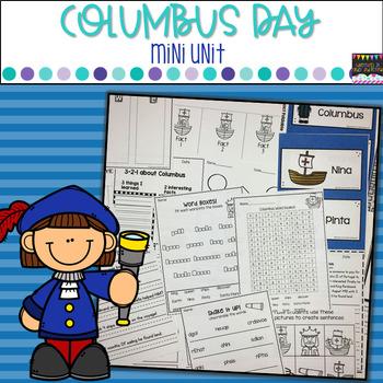 Columbus Day- Mini Unit