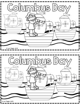 Columbus Day Minibook