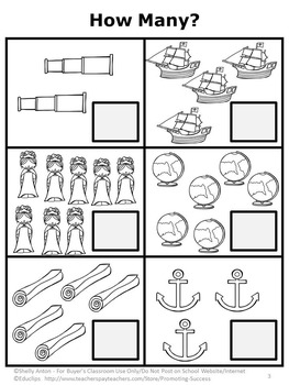 1st Grade Math Review Worksheets, Columbus Day Activities