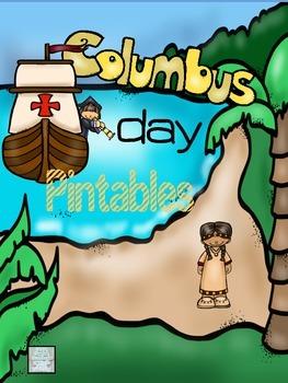 Columbus Day No Prep Printables