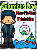 I Know Columbus Day Non-Fiction Printables