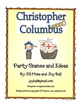 Columbus Day Party Games and Activities