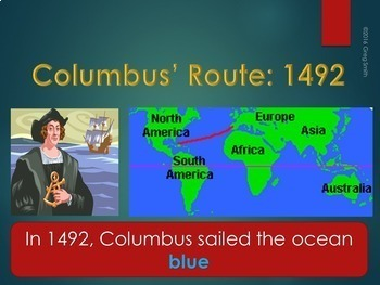 Columbus Day Poem PowerPoint