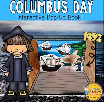 Columbus Day Pop Up Book