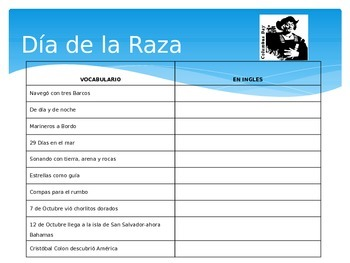 Columbus Day-Emergent Reader-Powerpoint & Activity Package