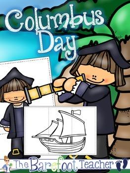 Columbus Day Puzzles FREEBIE