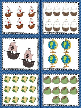 Columbus Day Read, Write, and Count the Room {Literacy and Math} {CCSS}