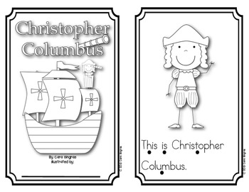 Columbus Day Reader and Retelling