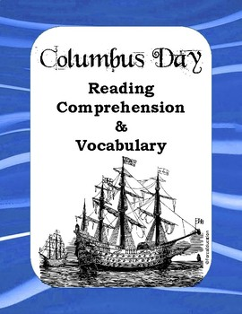 Columbus Day Reading / Listening Comprehension with Vocabulary and Context Clues