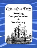 Columbus Day Reading / Listening Comprehension with Vocabu