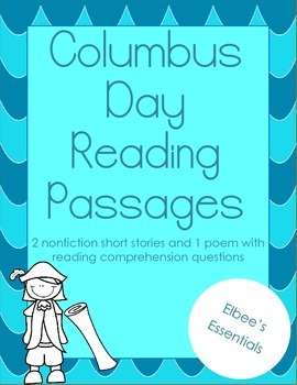 Columbus Day Reading Passages