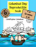 Columbus Day Reproducible Book- Grades 2-4 with written response