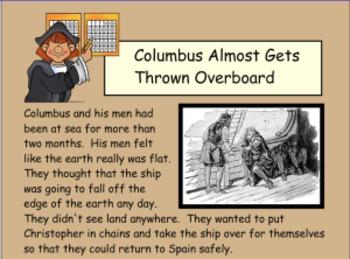 Columbus Day - Smartboard Lesson