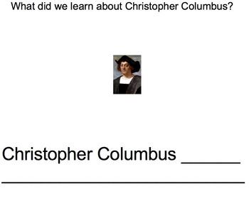 Columbus Day Smartboard Lesson