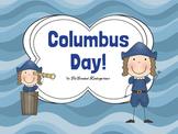 Columbus Day Social Studies - History Pre-K and Kindergarten