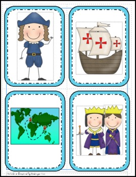 Columbus Day Story and Activities