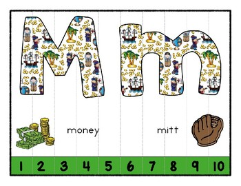Columbus Day ~ Teaching by the Letter Holiday Strip Number Puzzles