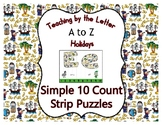 Columbus Day ~ Teaching by the Letter Holiday Strip Number
