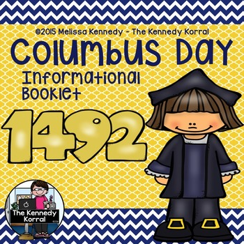 Columbus Day 1492 Informational Book {Informational Book}