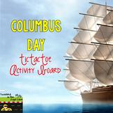 Columbus Day TicTacToe Choice Board