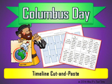 Columbus Day Timeline: Cut-and-Paste