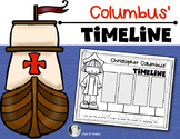 Columbus Day Timeline for {Kindergarten and First Grade} Social Studies
