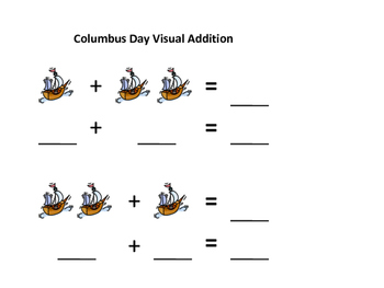 Columbus Day Visual Addition