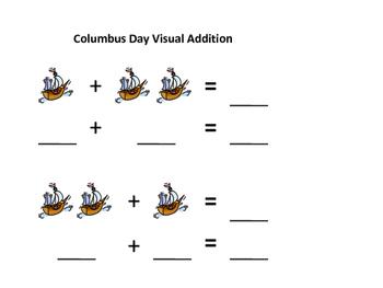 Columbus Day Visual Addition