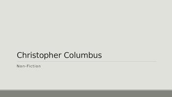 Columbus Day Vocabulary