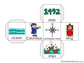 Columbus Day Vocabulary On a Roll
