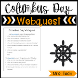 Columbus Day Webquest