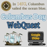 Columbus Day Webquest - NO PREP - Editable! Reading Compre