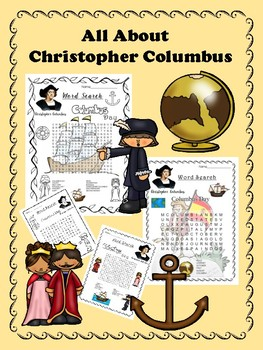 Columbus Day - Word Search